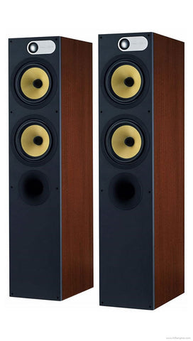 Open Box - Bowers & Wilkins 684 Pair - Red Cherry