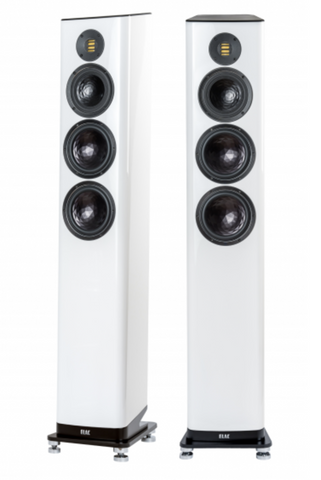 ELAC FS 409 Floorstanding Speakers Pair - White