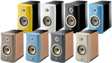 Focal Kanta N1 2-Way Bookshelf Speaker - pair Blue & Walnut