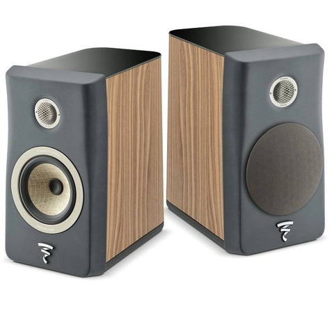 Focal Kanta N1 2-Way Bookshelf Speaker - Black & Walnut