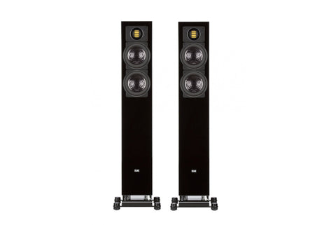 ELAC AIR-X 407 Active Floorstanding Speaker - Black