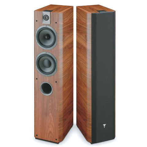 Focal Chorus 716 - 2 WAY - Floorstanding Speaker - Walnut