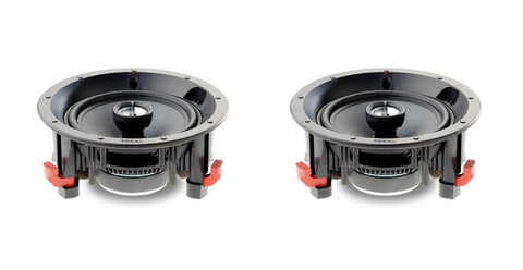 Focal 100ICW6 In-Ceiling Loudspeaker - pair - Black