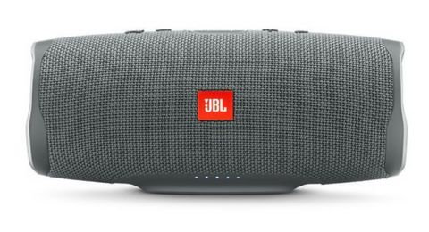 JBL Charge 4 Waterproof Portable Bluetooth Speaker - Grey
