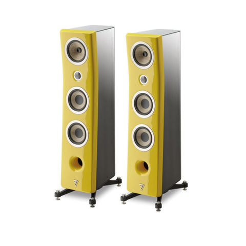 FOCAL KANTA N2, 3-WAY FLOORSTANDING SPEAKERS - pair - Green