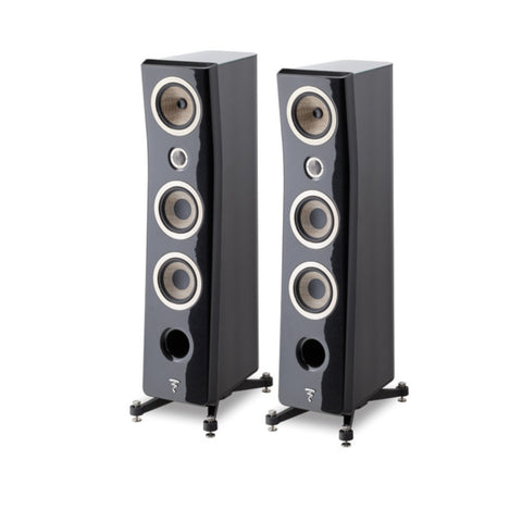 FOCAL KANTA N2, 3-WAY FLOORSTANDING SPEAKERS - pair - Black