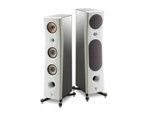 FOCAL KANTA N2, 3-WAY FLOORSTANDING SPEAKERS - pair - Black & White