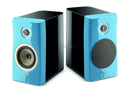 Focal Kanta N1 2-Way Bookshelf Speaker - pair - Black & Blue