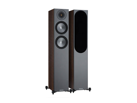 Monitor Audio BRONZE 200 Floorstanding speakers - pair - Walnut