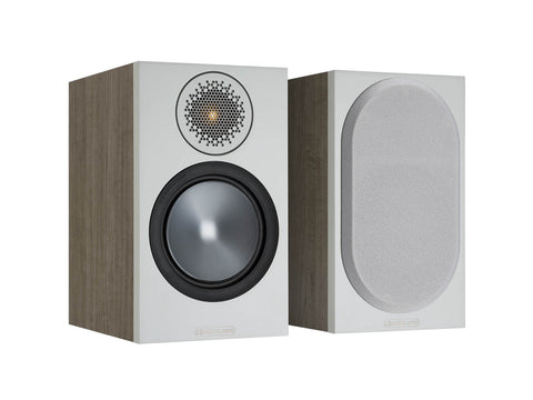 Monitor Audio BRONZE 50 Bookshelf Speakers - pair - Urban Grey