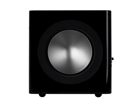 Monitor Audio Radius 380 Subwoofer - Each - High Gloss Black Lacquer