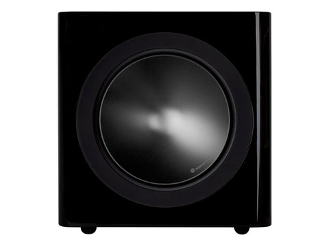 Monitor Audio Radius 390 Subwoofer - Each - High Gloss Black Lacquer
