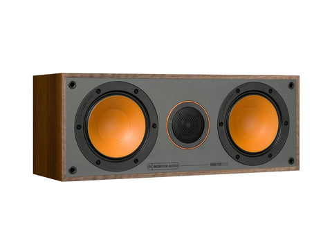 Monitor Audio SMC150 Centre Speakers - Each - Walnut Vinyl