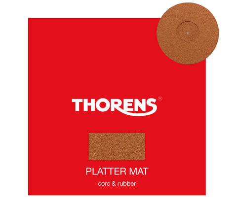 Thorens turntable platter mat - Cork & Rubber