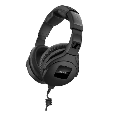 Sennheiser HD 300 PRO Over ear Headphones - Black