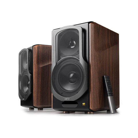 Edifier S2000MKIII	Hi-Res Audiophile Active Bookshelf Speaker - Dark Woodgrain