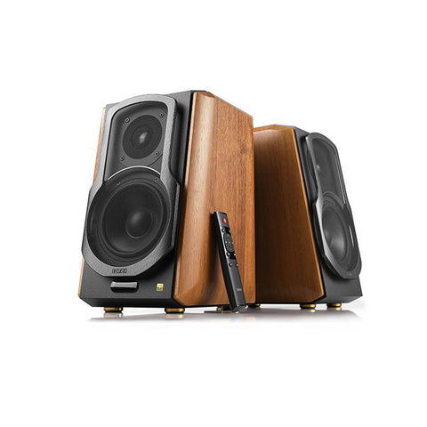 Edifier S1000MKII  Hi-Res Audiophile Active Bookshelf Speaker - Light Woodgrain