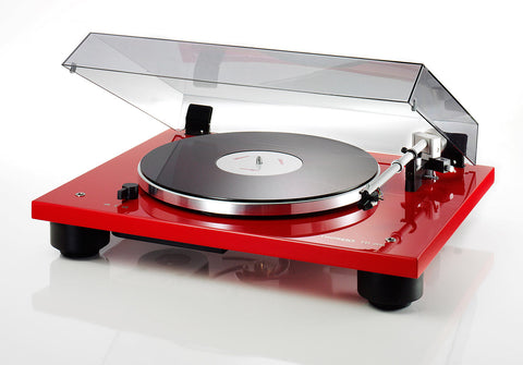Thorens TD-206 Turntable - Red