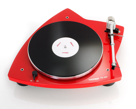 Thorens TD-209 Turntable - Red