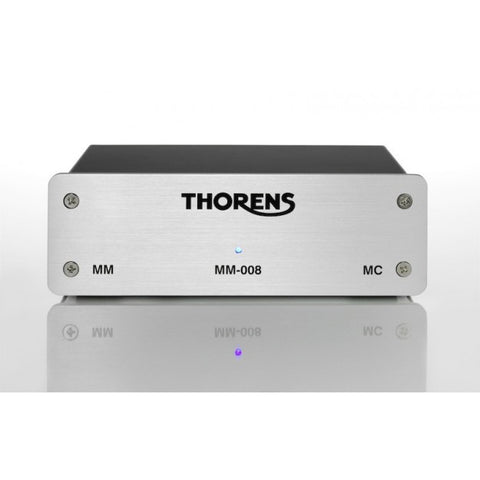 Thorens MM-008 MM and MC phono stage - Silver