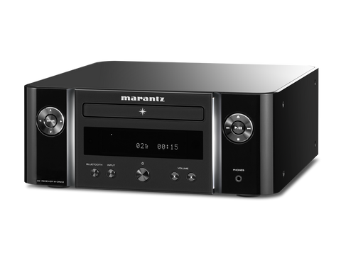 Marantz Melody M-CR412 True Hi-Fi System Featuring CD Playback - Black