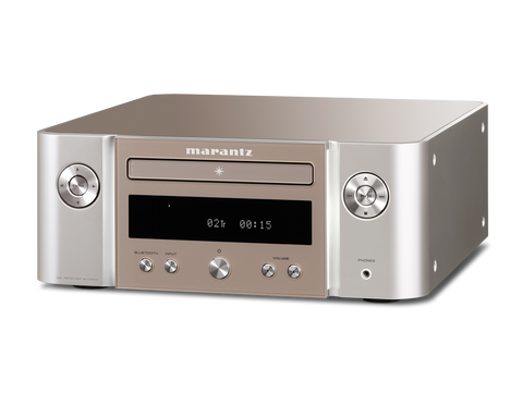 Marantz Melody M-CR412 True Hi-Fi System Featuring CD Playback - SilverGold
