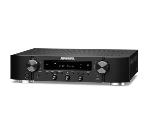 Marantz NR 1200 Slim Stereo Network Receiver with HEOS Built-in - Black
