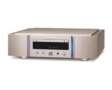 Marantz SA-10 Super Audio CD player with USB DAC and digital inputs - SilverGold