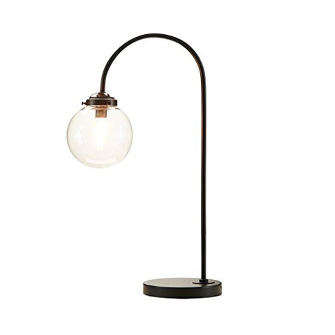 Table Lamp1 Table Lamp:14Wx7Dx23.25HShade Size:5.5Dx6HCord Length:72Lamp Base:7D x 1 HBronzeII153-0007