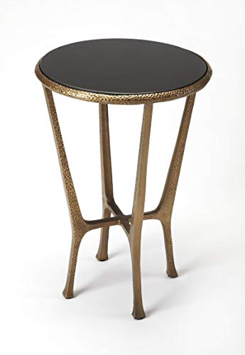 BUTLER FLAVIO METAL & STONE END TABLE