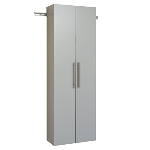 "HangUps 24"" Large Storage Cabinet, Light Gray"