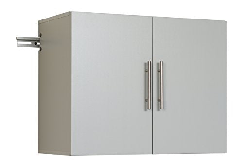 "HangUps 30"" Upper Storage Cabinet, Light Gray"