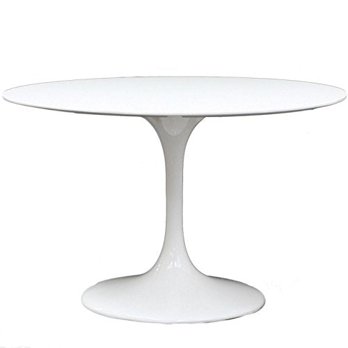 "Lippa 40"" Round Fiberglass Dining Table"
