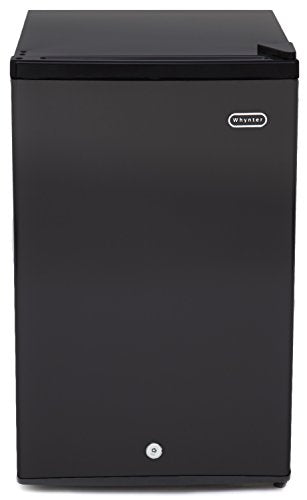 Whynter 3.0 cu. ft. Energy Star Upright Freezer with Lock - Black