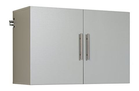 "HangUps 36"" Upper Storage Cabinet, Light Gray"