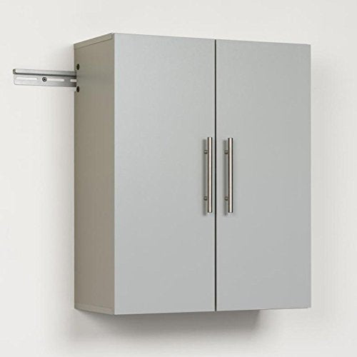 "HangUps 24"" Upper Storage Cabinet, Light Gray"