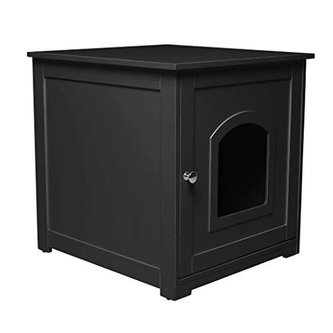 Kitty Litter Loo` Black