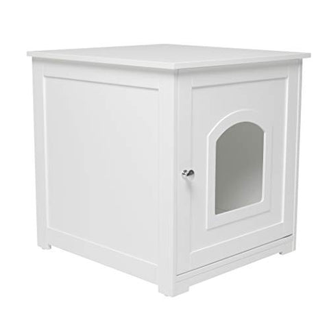 Kitty Litter Loo` White