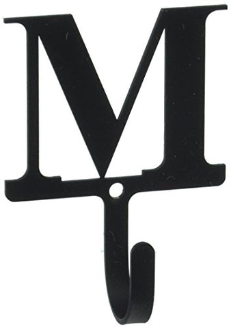 Letter M - Wall Hook Small