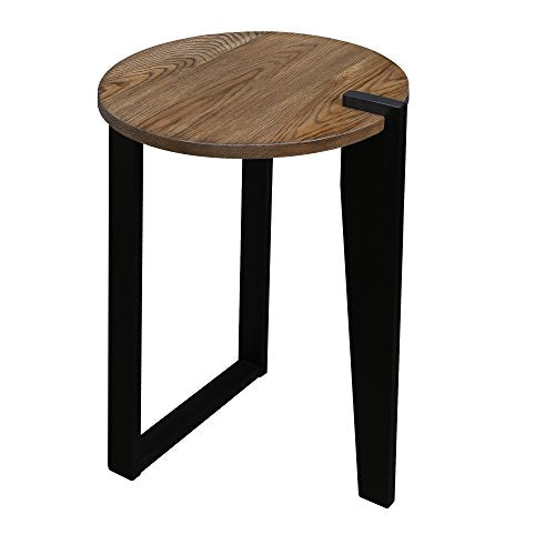 Sundial Contemporary Round End Table