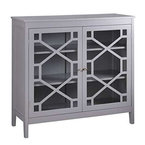Fetti Gray Large Cabinet