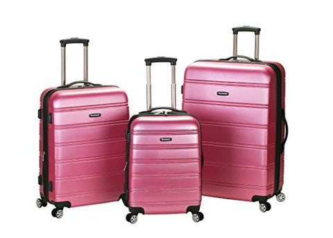 MELBOURNE 3 PC ABS LUGGAGE SET
