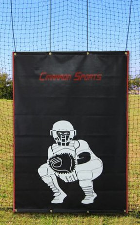 Cimarron 4x6 Vinyl Backstop with Catcher Image