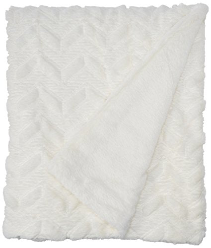 Textured Plush Down Alternative Throw1 Throw:50x60IvoryID50-1039