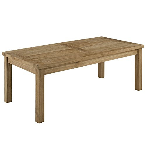 Marina Outdoor Patio Teak Rectangle Coffee Table