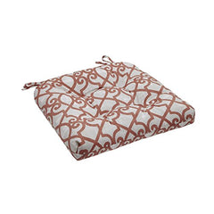 "Fretwork 3M Scotchgard Outdoor Seat Cushion1 Cushion:20x20x3""CoralMP31-2865"