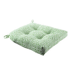 "Printed Fret 3M Scotchgard Outdoor Seat Cushion1 Cushion:20x20x3""GreenMP31-3906"