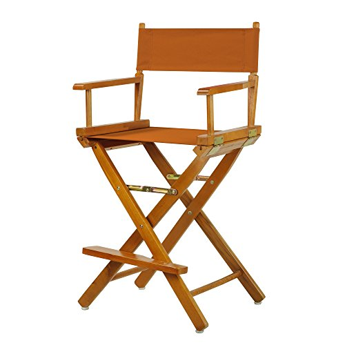 "24"" Director's Chair Honey Oak Frame-Mango Canvas"
