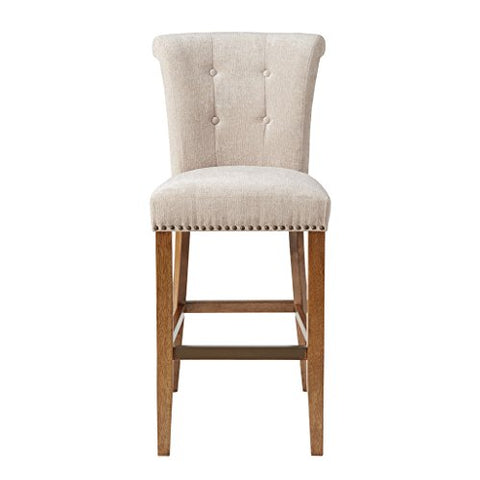 30-Inch Bar Stool1 Bar Stool:21.25W x 26.75D x 43.75HSeat:19W x 17.5D x 30HDistance Between Legs (Front to Front):15.25Distance Between Legs (Front to Back):19.5Distance Between Legs (Back to Back):15.5CreamMP104-0062