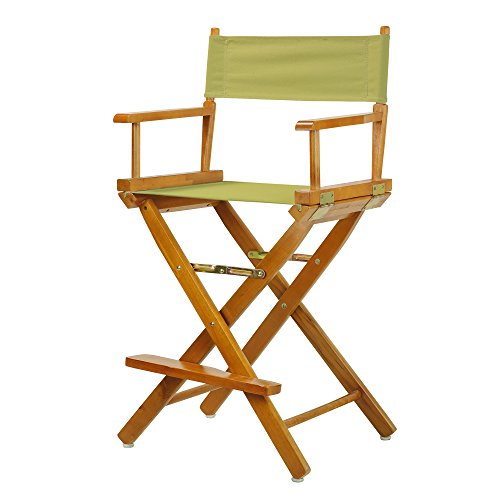 "24"" Director's Chair Honey Oak Frame-Sage Canvas"